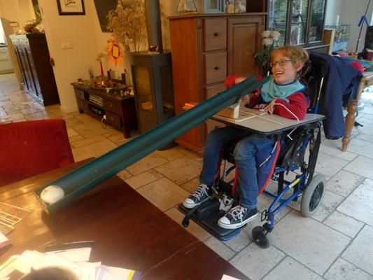 rolstoel vastmaken computer